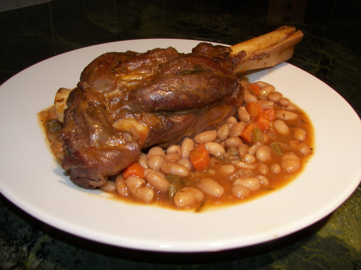 Recipe Braised Lamb Shanks And White Beans Recipes Or Reservations