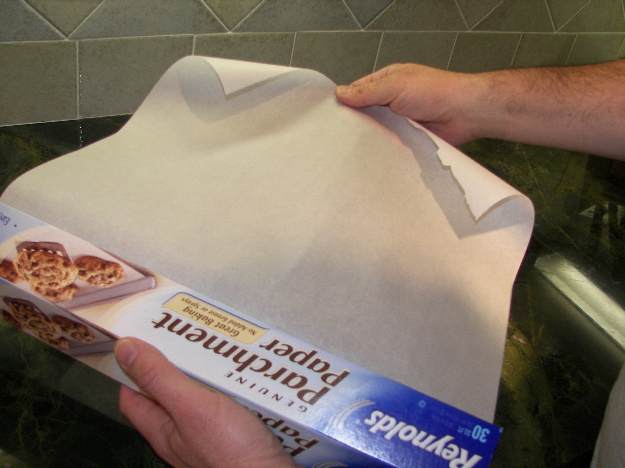 french term parchment paper lid Parchment doesn't make a complete seal, so it lets out some heat/moisture probably more about the heat, come to think of it    when you put a cast iron lid on a cast iron pot, the heat builds up significantly, but not so with parchment paper.