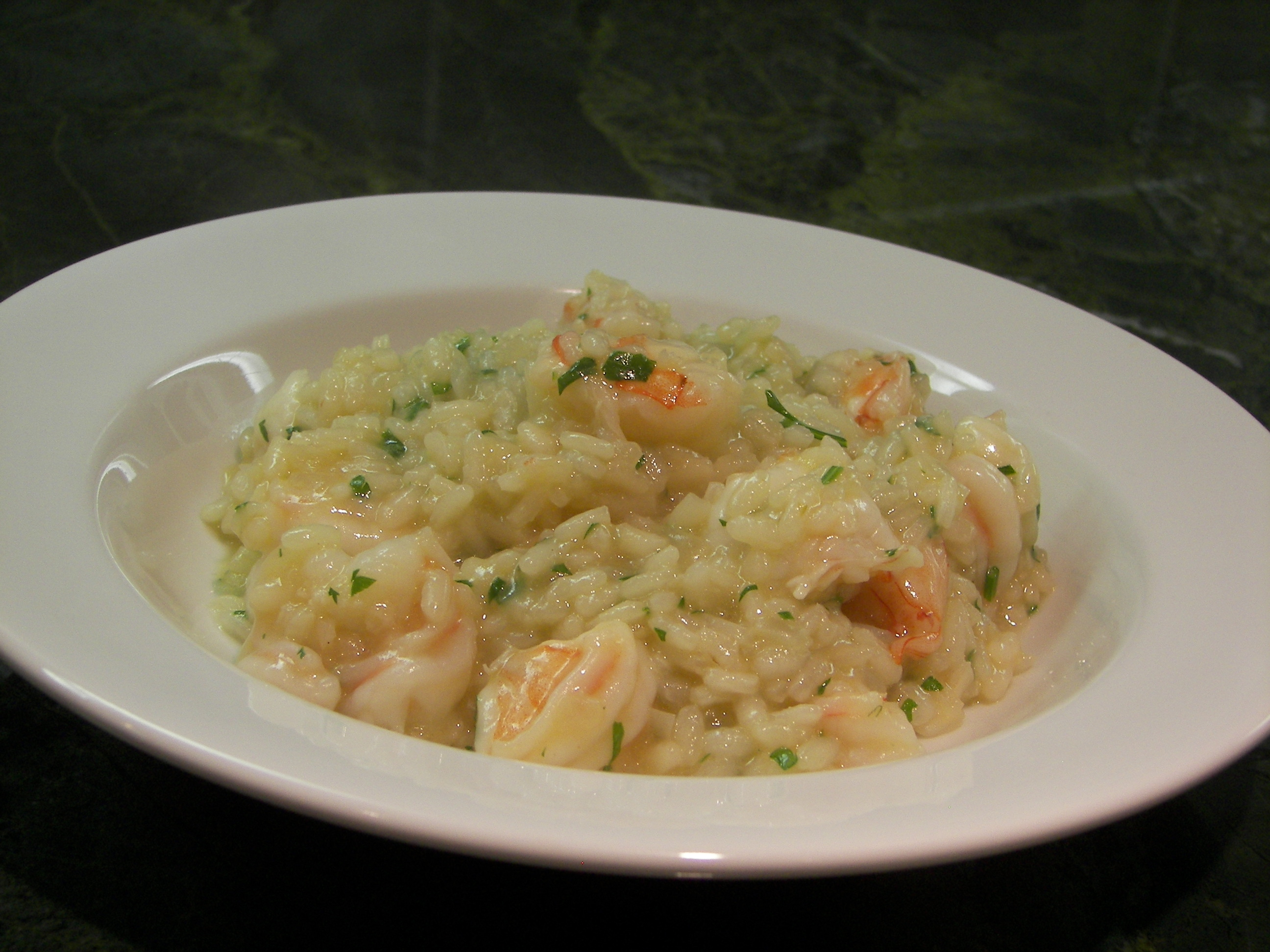 Shrimp Risotto Recipe — Dishmaps