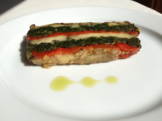 Eggplant And Roasted Red Pepper Terrine The Impulse Buy I