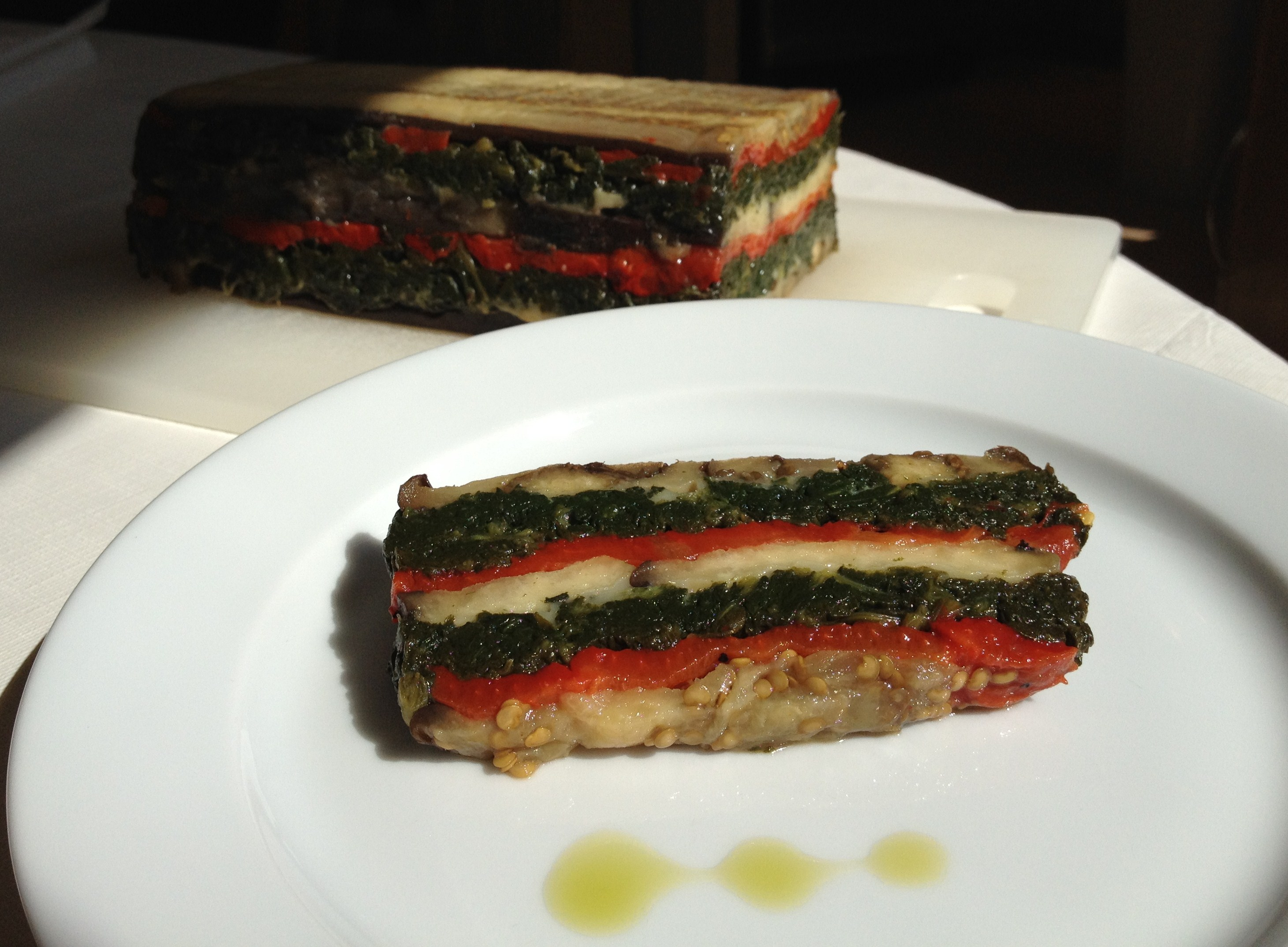 Eggplant And Red Pepper Terrine Recipes — Dishmaps