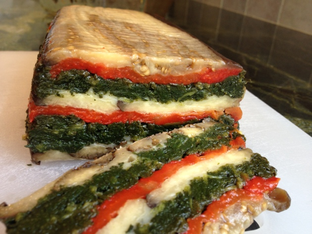 Eggplant and Roasted Red Pepper Terrine: The Impulse Buy I never ...