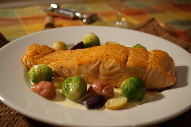 Pan Roasted Salmon 1