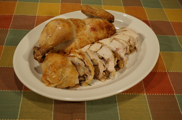 Boneless Stuffed Chicken 5