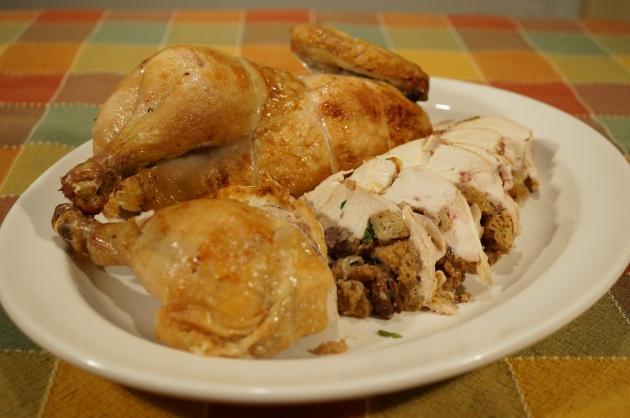 Boneless Stuffed Chicken 6