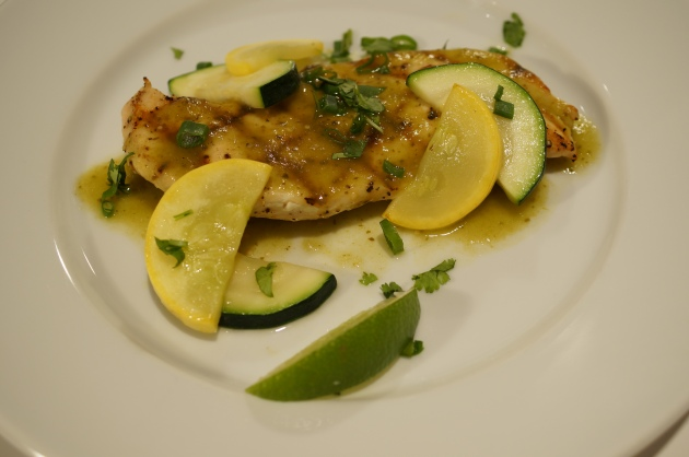 Chicken and Tomatillo Sauce 4