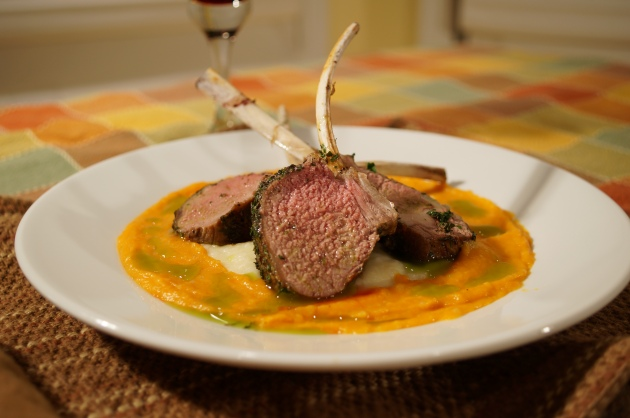 Herb Crusted Lamb 1