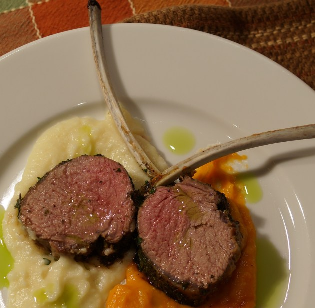Herb Crusted Rack of Lamb 2