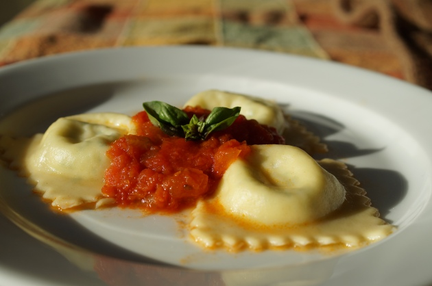 Homemade ravioli 4
