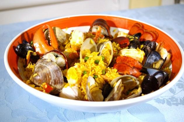 Seafood Pilaf - Paella 2