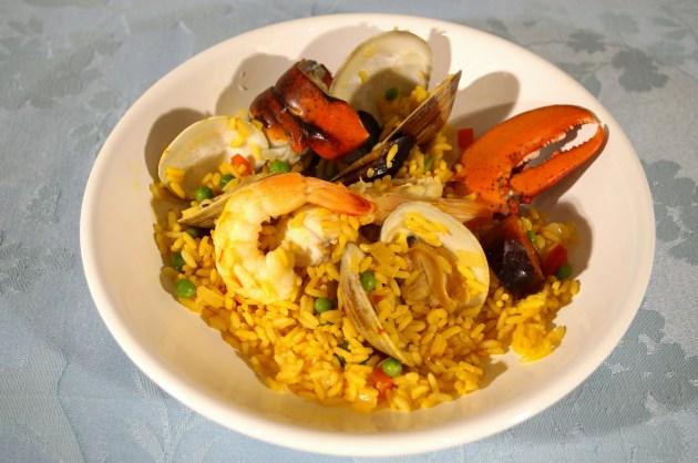 Seafood Pilaf - Paella 4