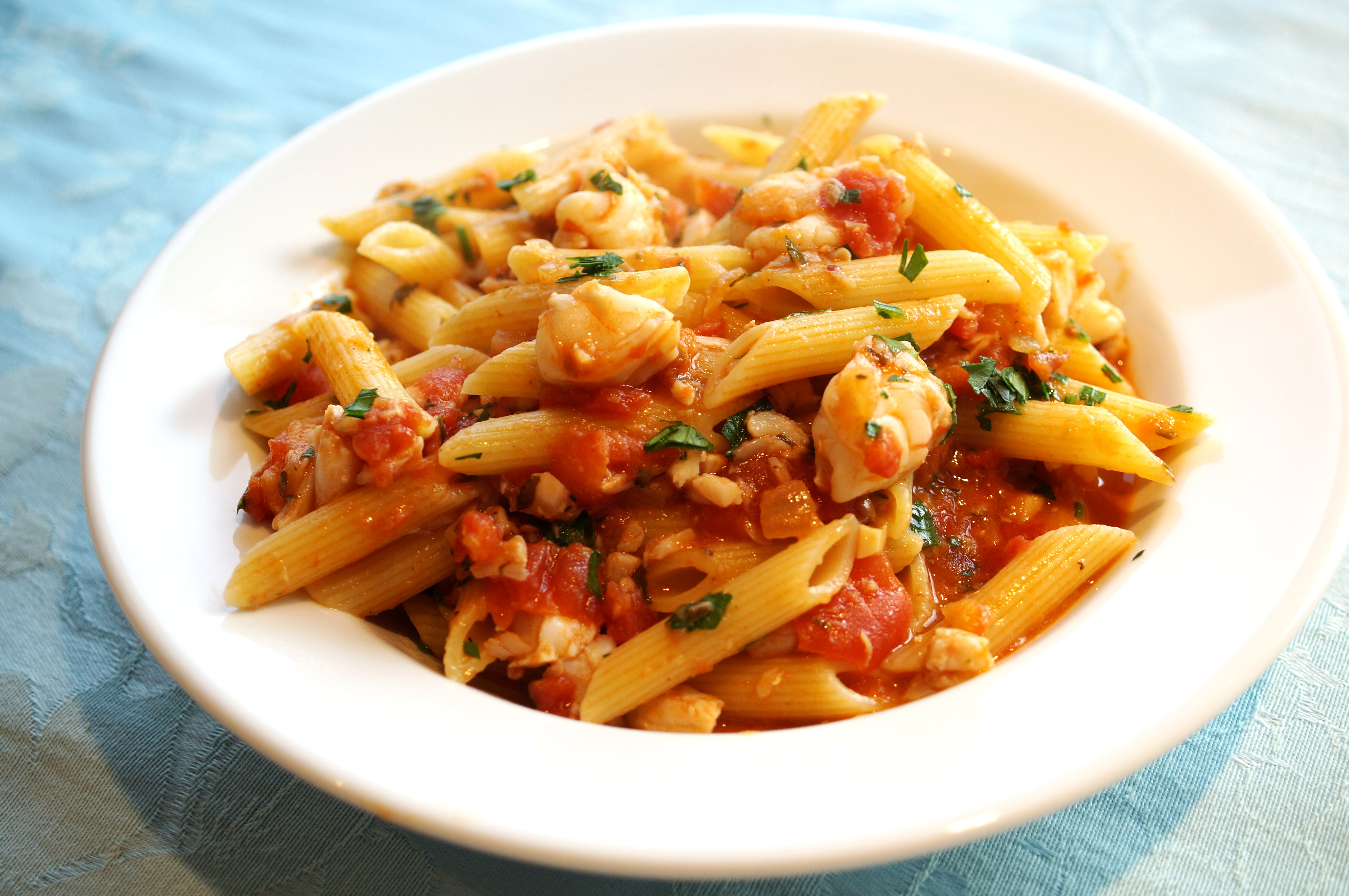 roasted vegetables and marinara campanelle with roasted vegetables and ...