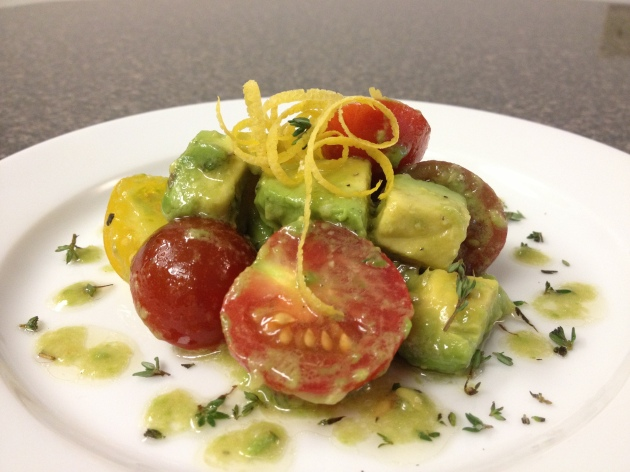 Tomato and Avocado Salad 2